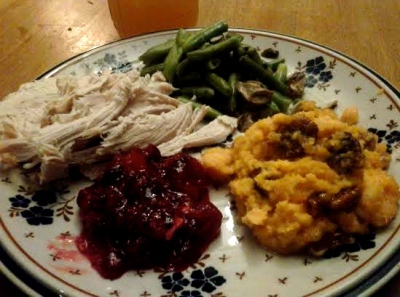 Thanksgiving should happen daily....