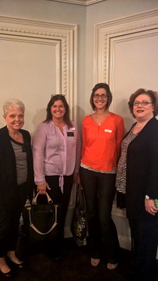 Cindy, Amy, Melissa, and Dr. Linda attended the Senior Lifestyle Expo at Drury Lane.