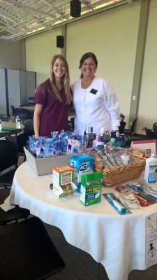 Megan Singletary RDH & Amy Singletary RDH presenting to Lemont Seniors