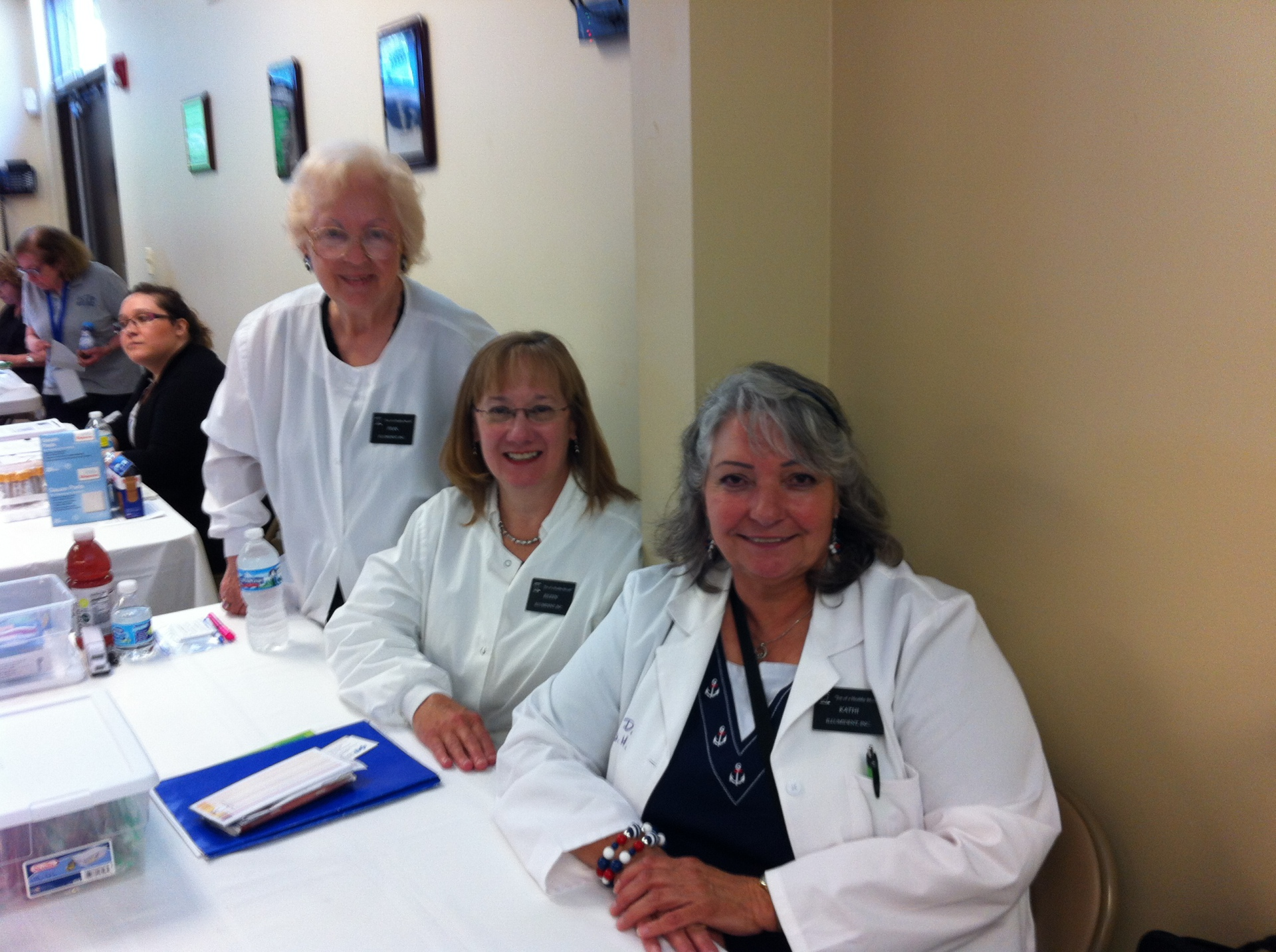 Fran and Kathy at one of our presentations in Niles!