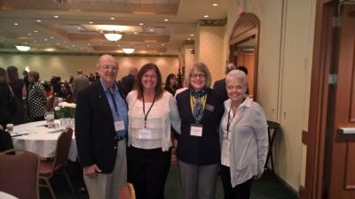 Jim Sotirakos, Amy Singletary RDH, Dr. Aldona Starkus, & Cindy Haberkorn RDH