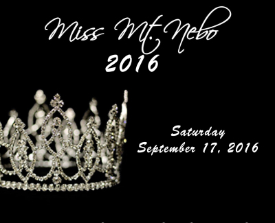 Miss & Mrs. Mt. Nebo Pageant