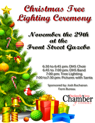Dardanelle Christmas Tree Lighting Ceremony