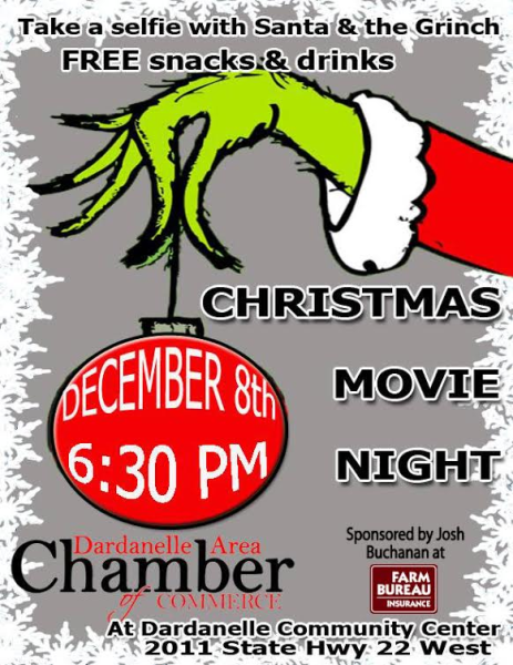 How the Grinch Stole Christmas Movie Night