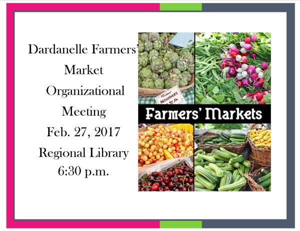 Farmers Market Meeting