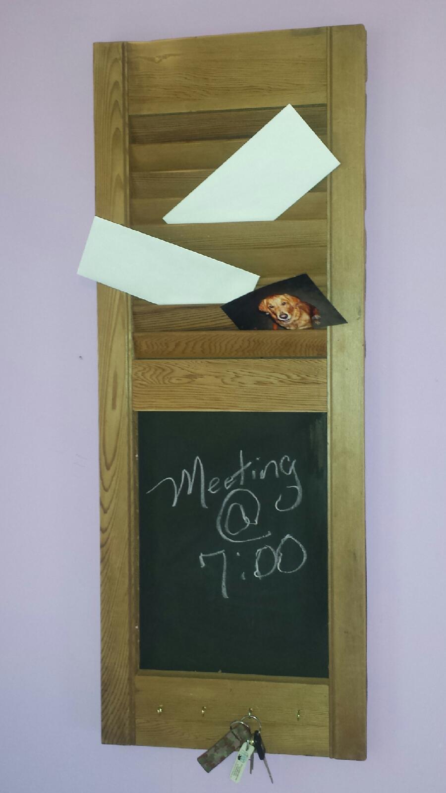 Chalkboard Shutters
