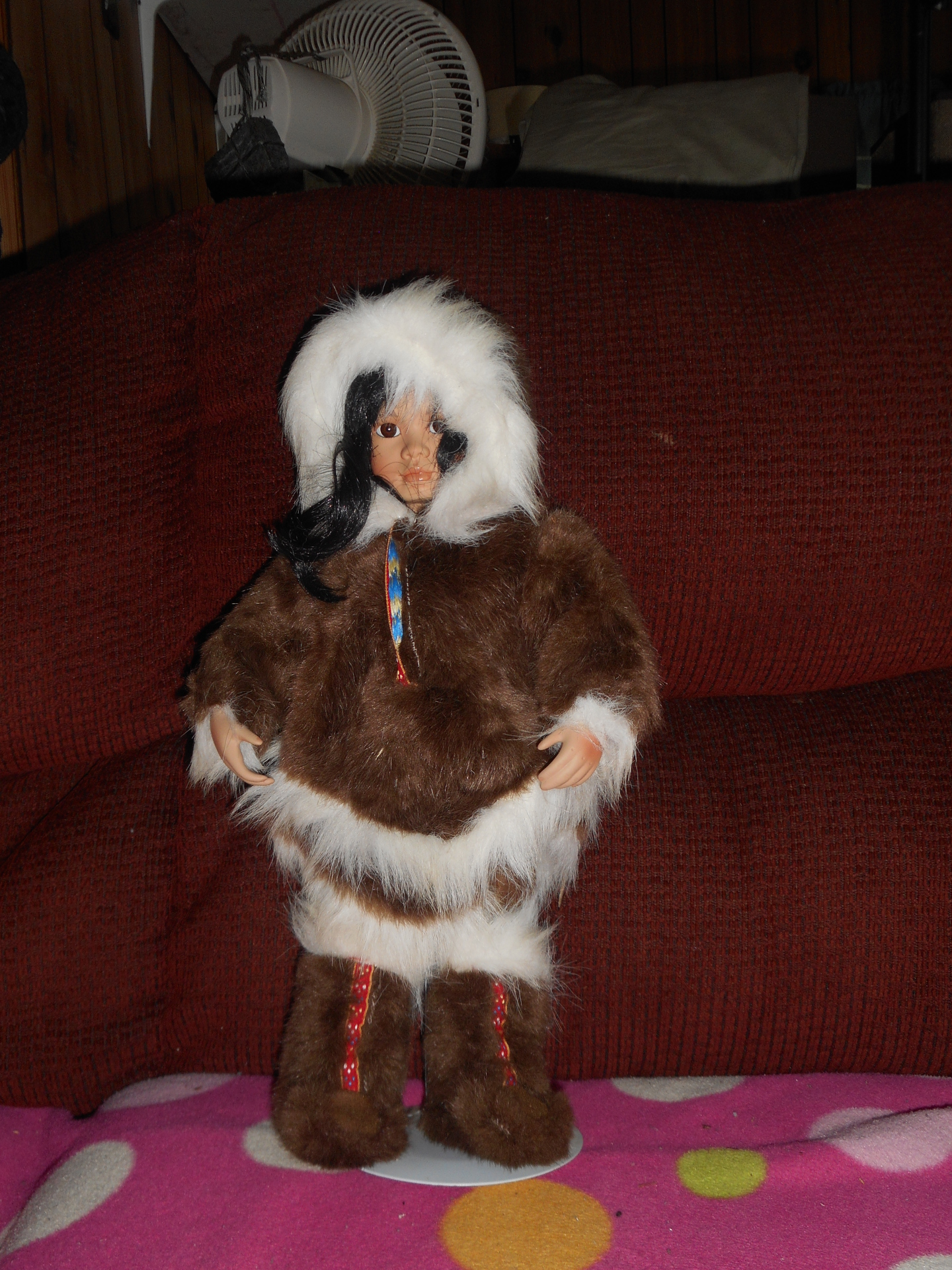 Native American China Doll