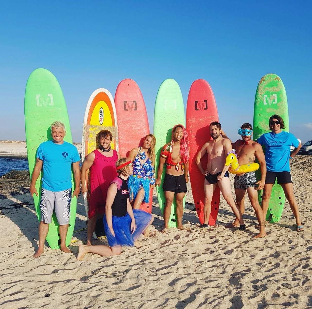 Ohana Surf and Fitness Events presents Surf and Stretch week in Fuerteventura. Join us for Surf, Fitness, Celebrity and charity events in the UK and Canary Islands, with celebrity fitness trainer and pro surfer Tehillah McGuinness. With locations and accommodation in Cornwall, Fuerteventura and London. Single travellers, couple, groups and families.  All levels and ages welcome.