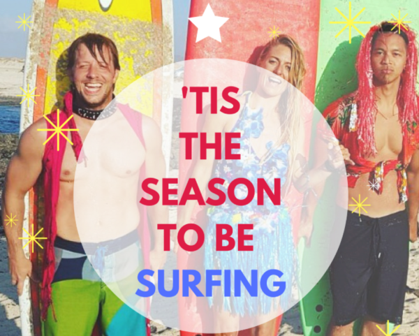 Pro Surfer and Celebrity Fitness trainer hosts Surf and Fitness week in Fuerteventura - buy your loved one a surf and stretch voucher this Christmas