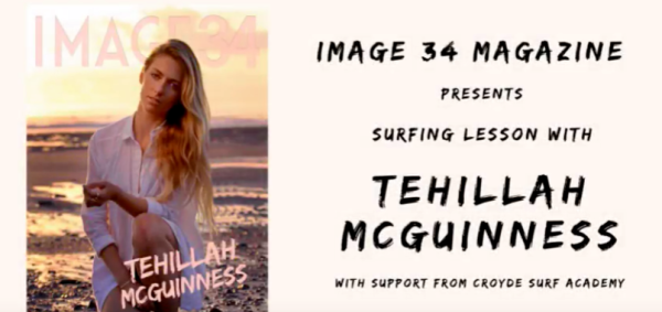 South African Born Celebrity Pro Surfer and Personal Trainer to the Stars on the cover of the new IMAGE 34 Fashion Magazine. She talks surfing, fitness, health, being an ambassador for women in sport, building here business Ohana Surf and Fitness and her life on the road as a sports model.