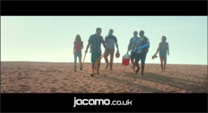 Jacamo advert with Freddie Flintoff - Urban Beach UK and Osprey Action Sports - Tehillah McGuinness South African celebrity Pro Surfer celebrity personal trainer, the UK's top female surfing champion, the face of the new mini countryman car, sports model, face of deeside mineral water, ambassador foe womens sport  UK, lives in Cornwall and Fuerteventura, blogger, travel blogger, health and fitness, fashion designer, presenter, athlete and business woman. CEO and Founder of Ohana Surf and Fitness, Charity Worker, cover girl, magazine and the UK's number one sports personality.