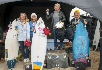 SURGIRL MAGAZINE -  CELEBRITY PRO SURFER AND SPORTS ILLUSTRATED SWIMWEAR MODEL TEHILLAH MCGUINNESS COMPETES IN THREE CATEGORIES AT THE 2017  ENGLISH NATIONALS COMPETITION PRESENTED BY SURFING ENGLAND