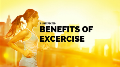6 Unexpected Benefits of Exercise