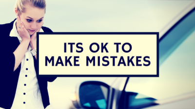 Its Ok To Make Mistakes