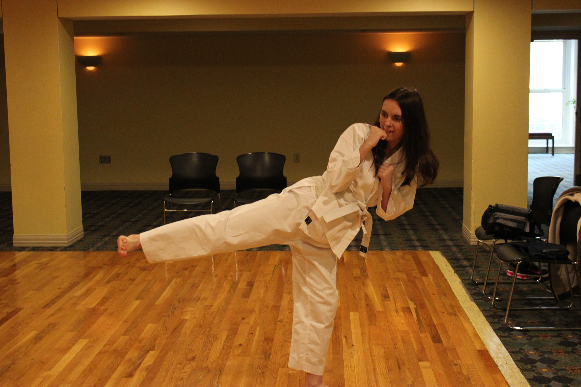Self-defense for kids and adults