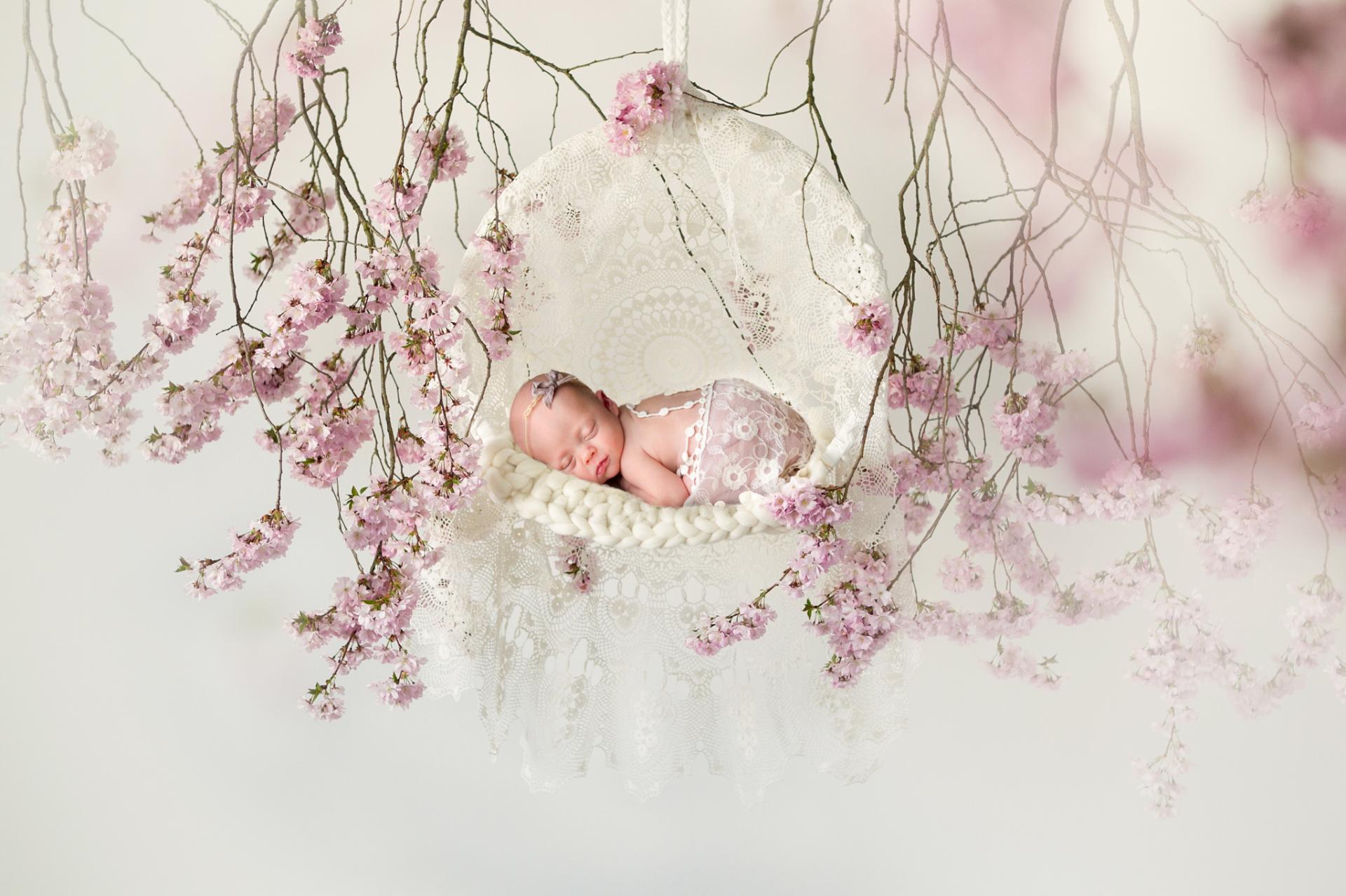 newborn photographer medina oh