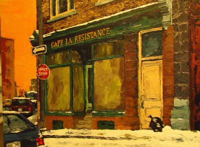 Cafe la resistance