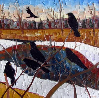 Bush Crows