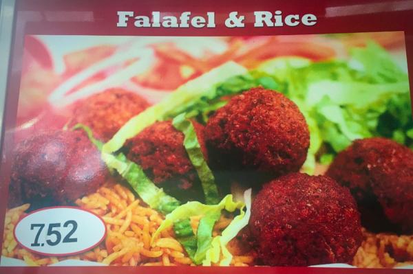 Falafel Over Rice