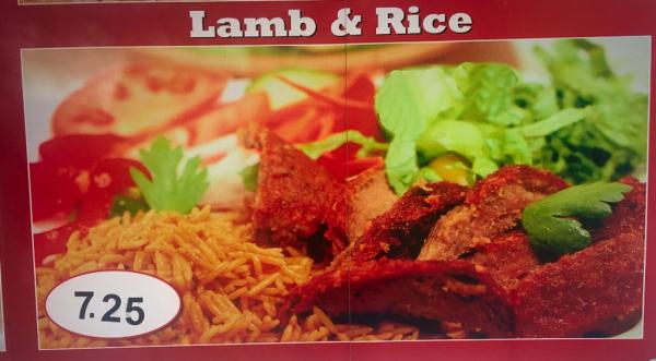 Lamb Over Rice