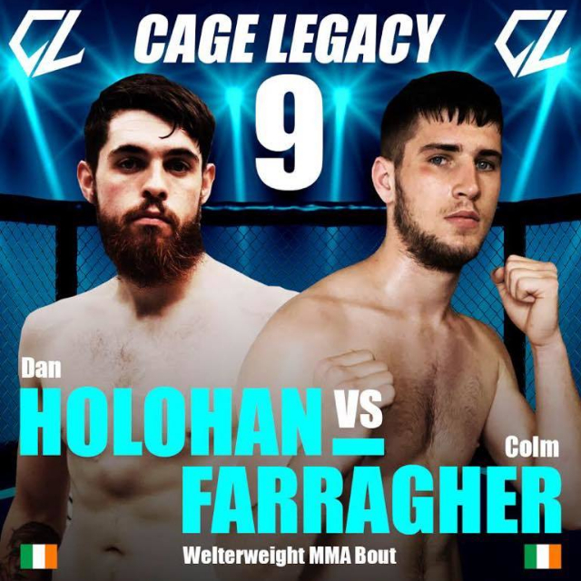 Colm Farragher Fight Announcement