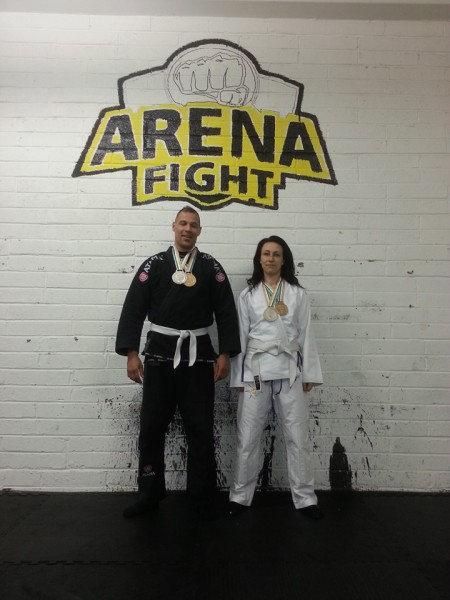 Curtis & Indra both take four medal between them at Dublin BJJ Open