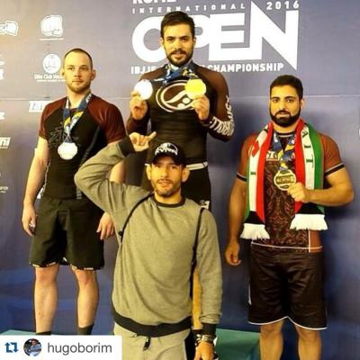Hugo Borim Wins European No-Gi Championship