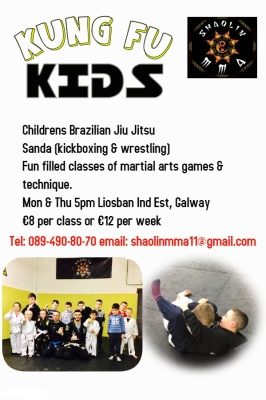 Childrens Brazilian Jiu Jitsu (Kungfu Kids)