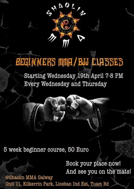 Beginner Course 14th June... Reserve Place Now!