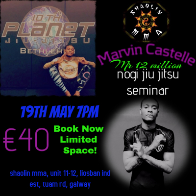 """Marvin Castelle"" 10th Planet Jiu Jitsu Seminar"