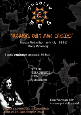 June 14th Womans MMA beginner Course