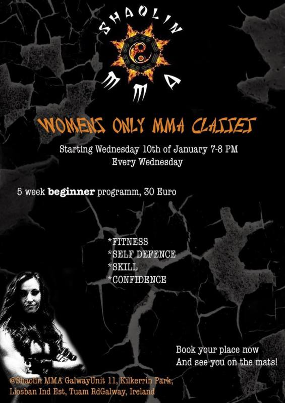 Womans MMA/BJJ Beginner Course 10th January
