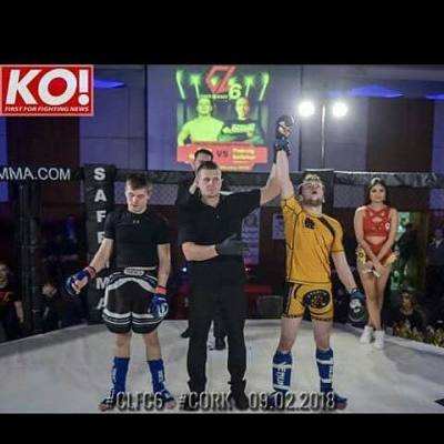 Karl McConway Earns Title Shot