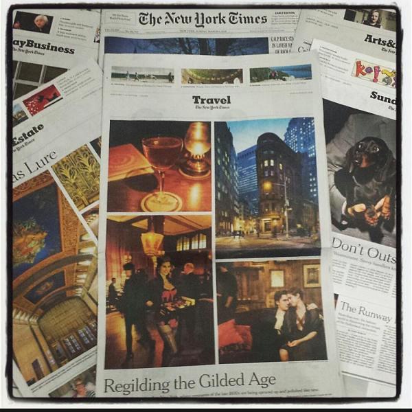 Karina Libido in The New York Times