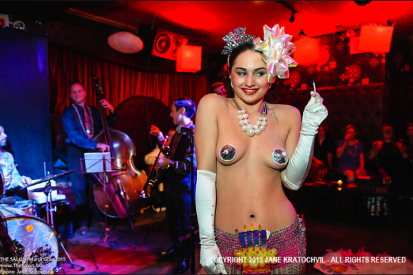 "Karina Libido ""Birthday Burlesque"""