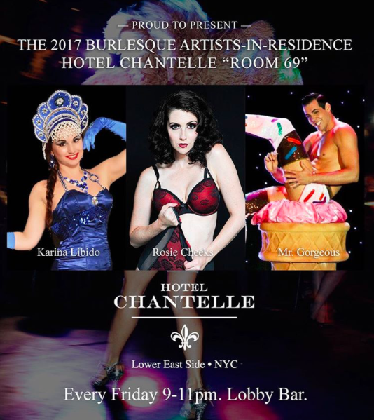 Hotel Chantelle Residency 2017 flyer