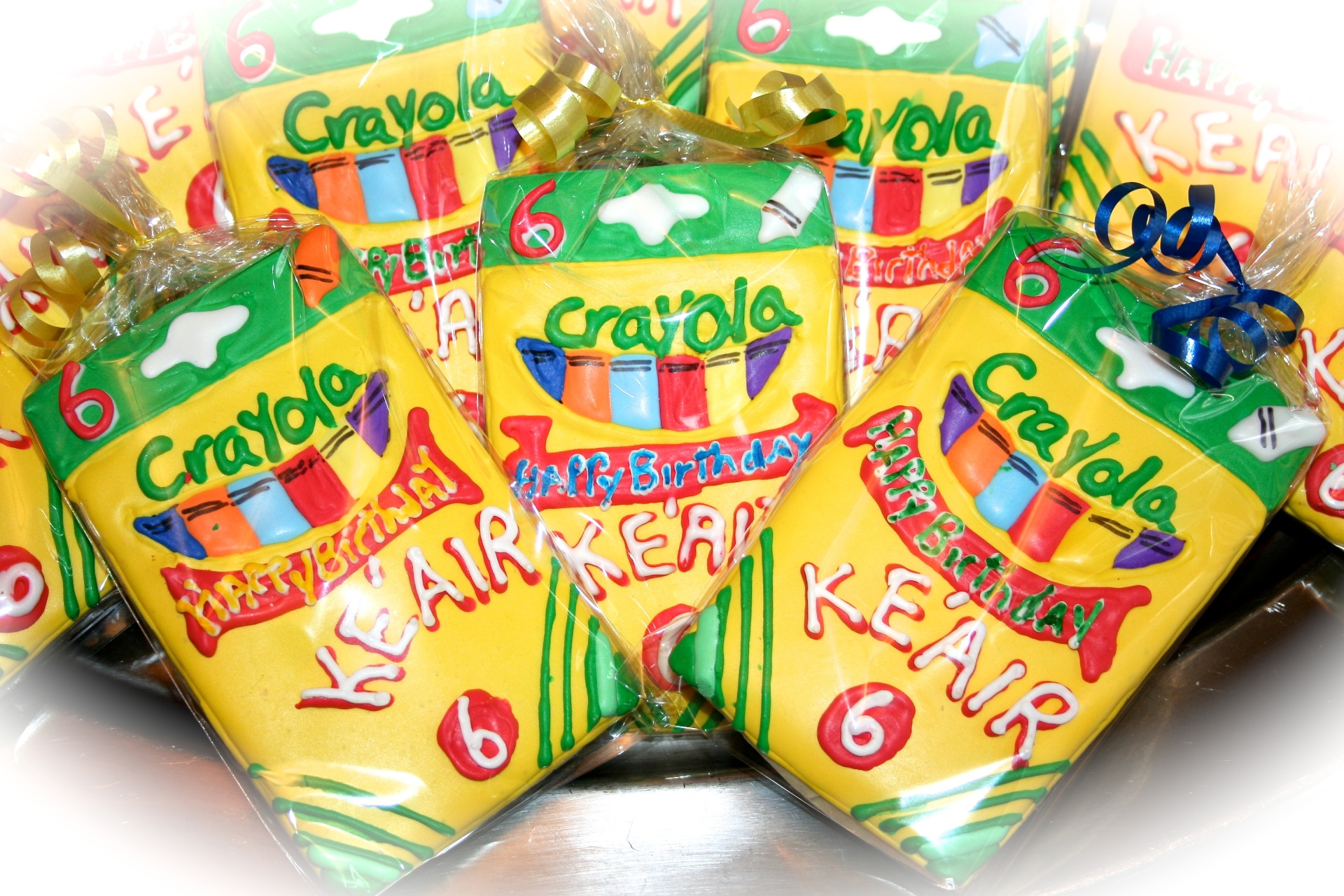 Crayola Box Sugar Cookies
