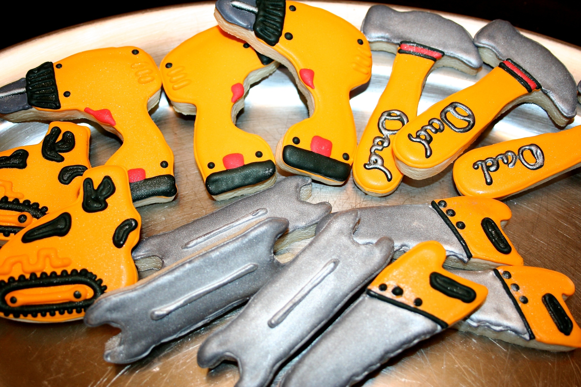 Construction Tools Sugar Cookie Set
