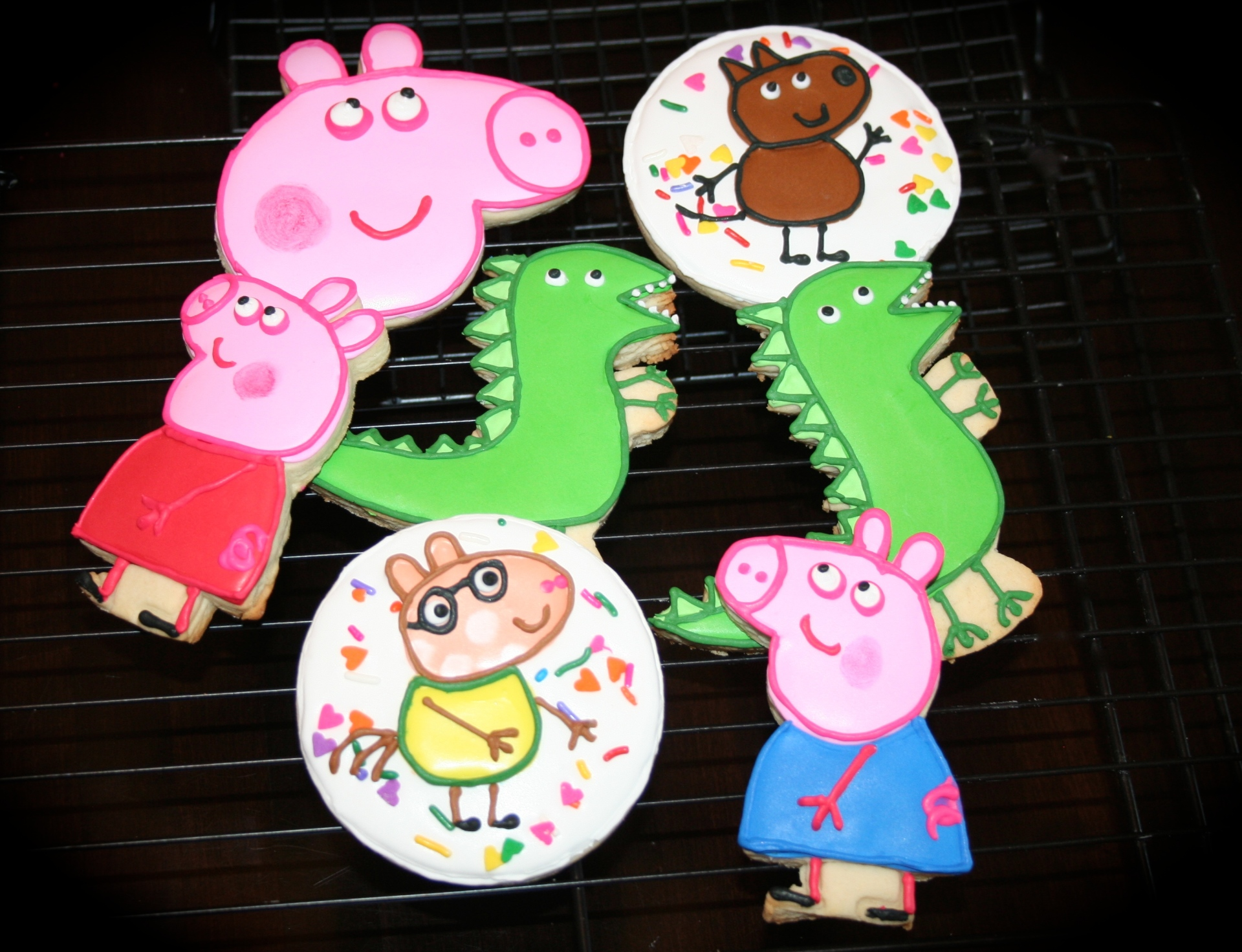 Peppa Pig Sugar Cookie Set