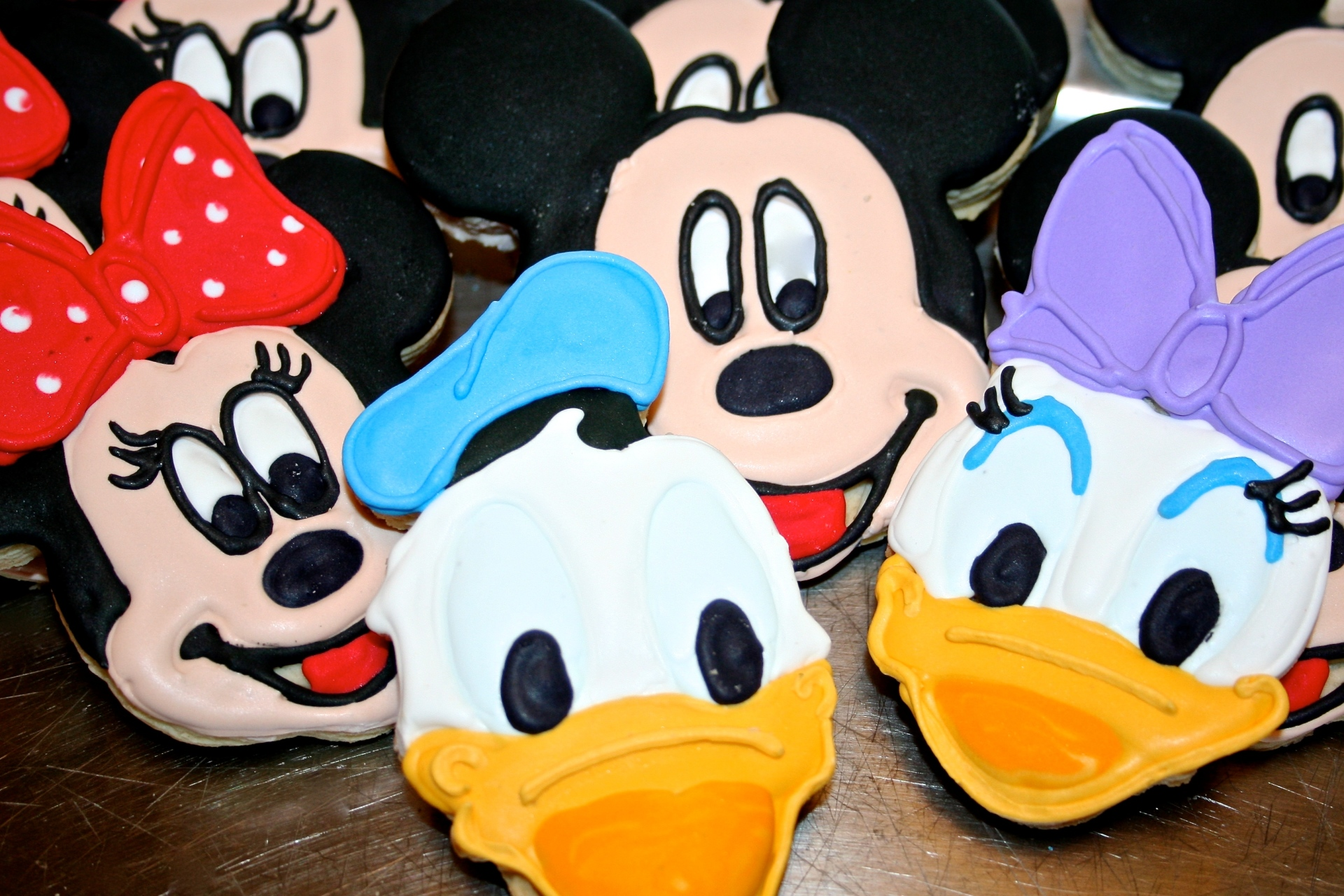 Disney Character Custom Cookies