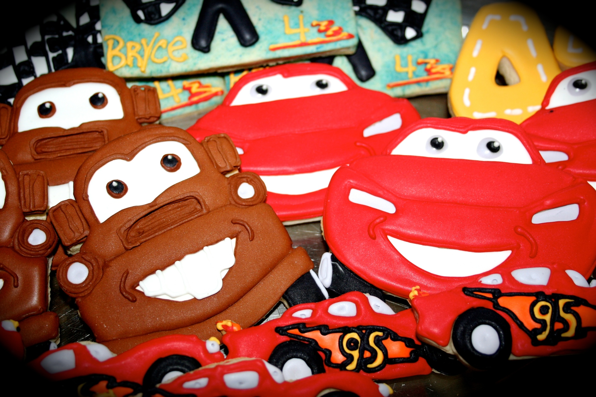 Cars Movie Custom Sugar Cookies