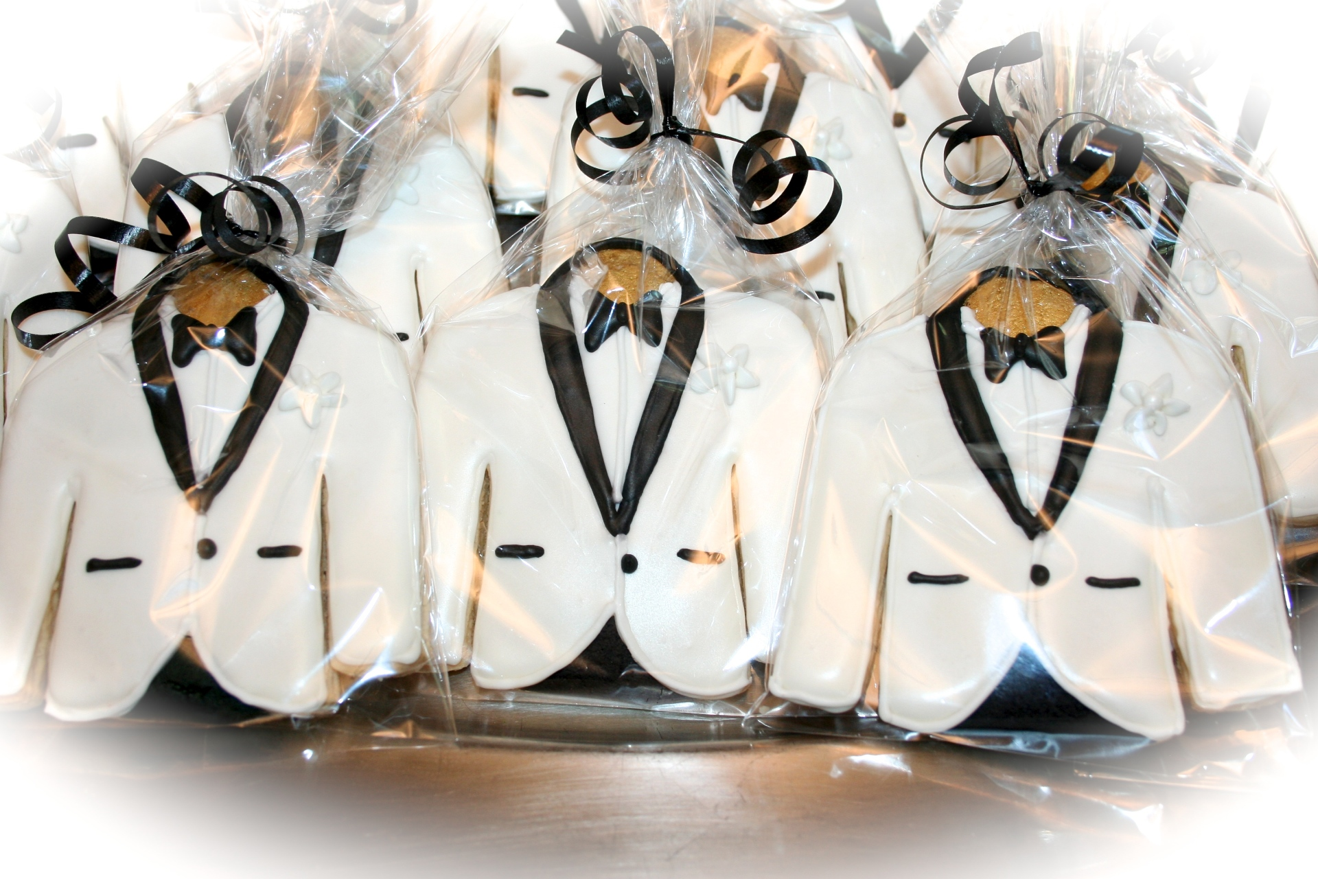 Tuxedo Jacket Custom Sugar Cookies