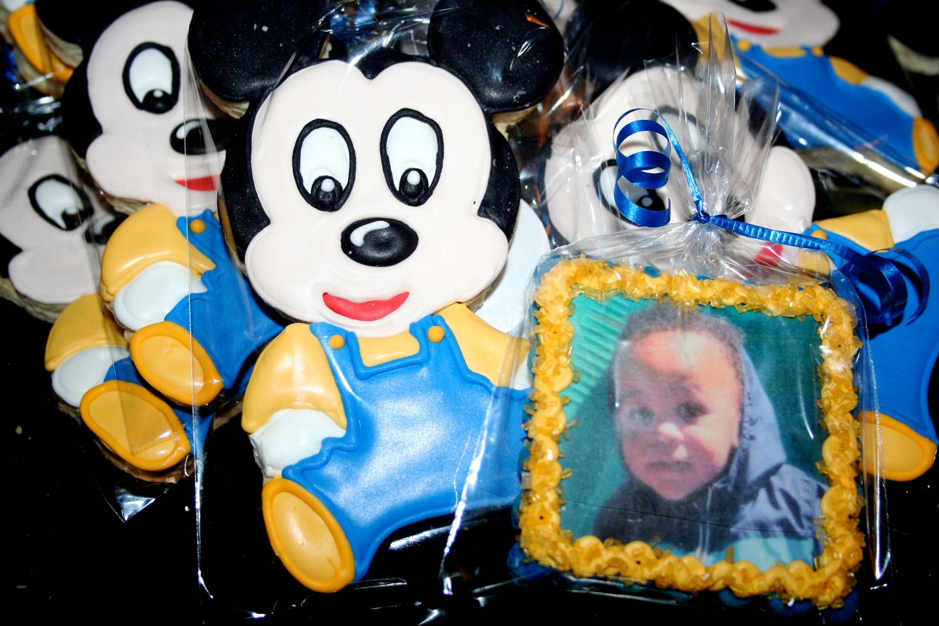 Baby Mickey Mouse Sugar Cookies