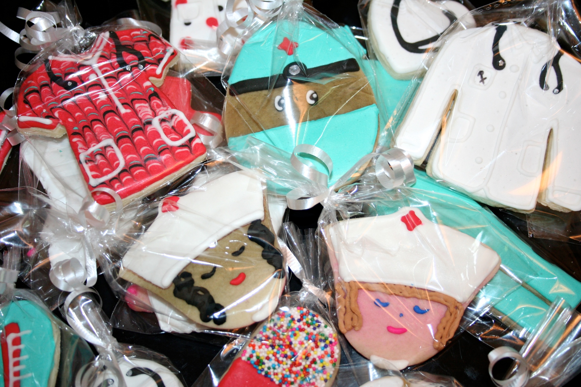Medical Theme Sugar Cookie Set
