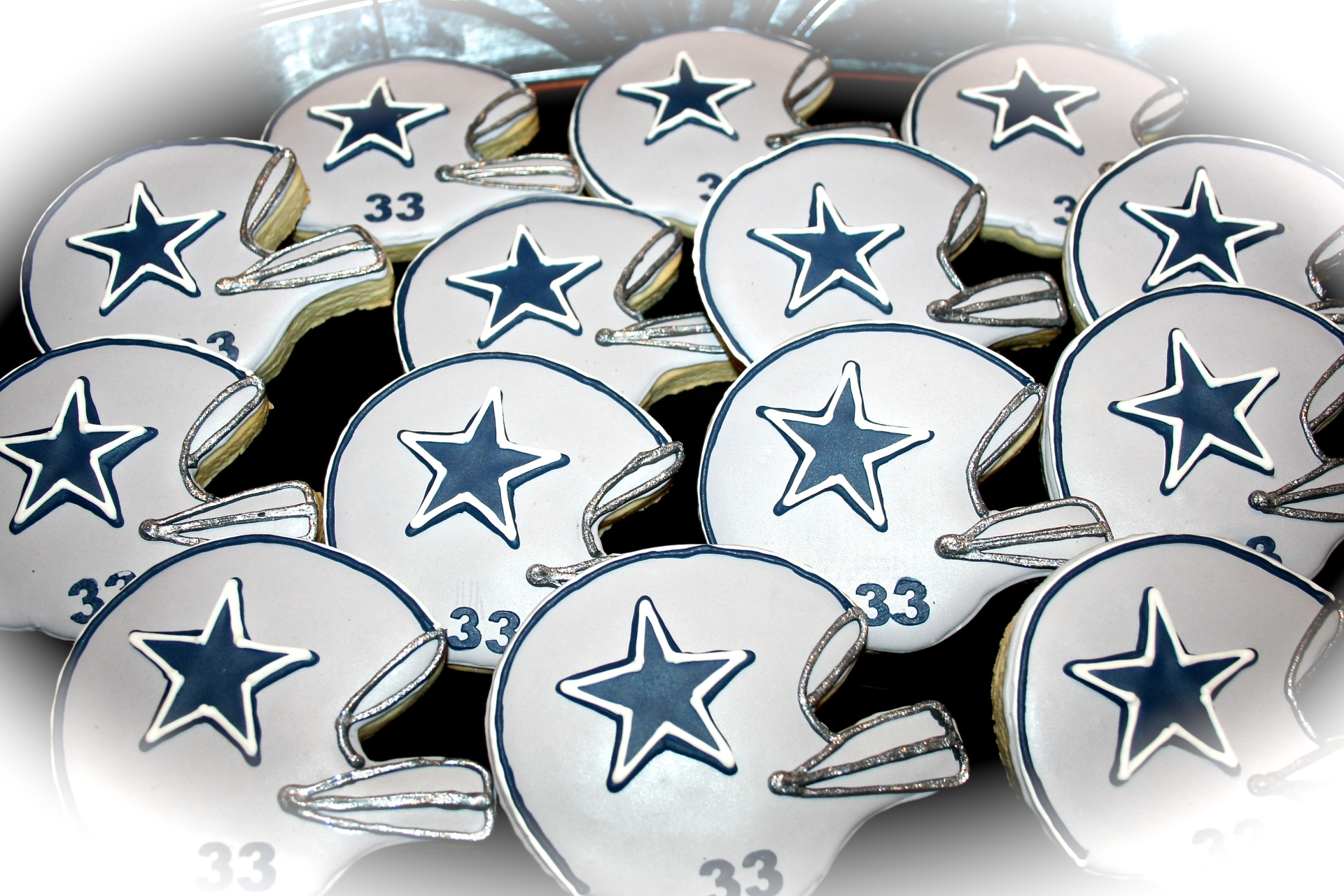 NFL Team Sugar Cookies