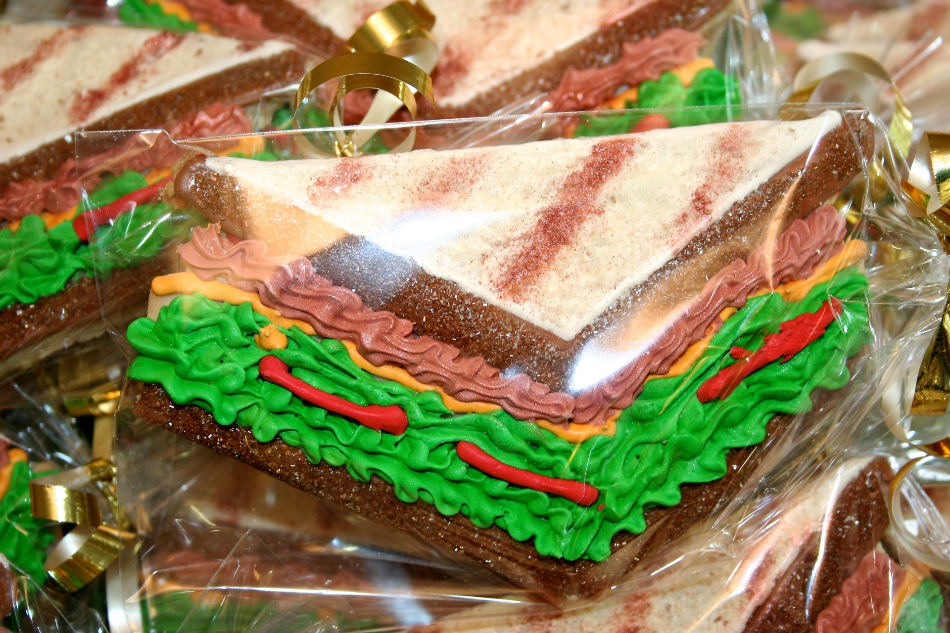 Club Sandwich Custom Sugar Cookies