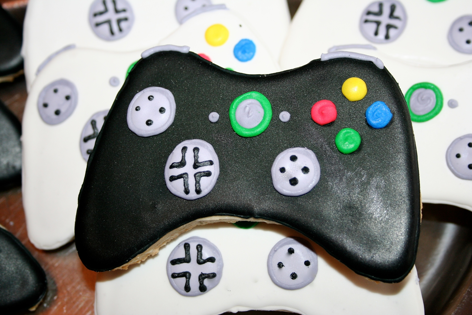 Gaming Controller Sugar Cookies
