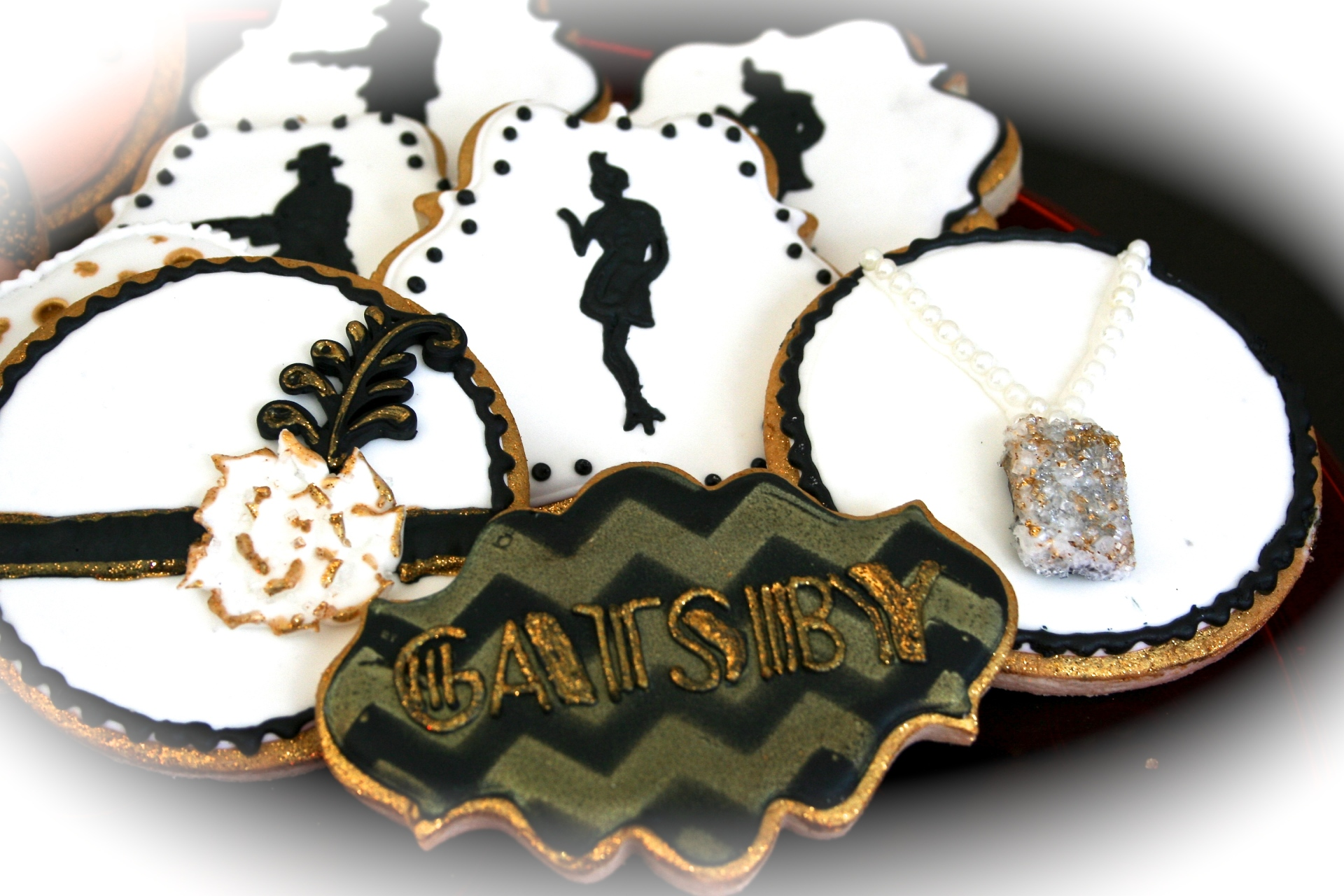 Great Gatsby Sugar Cookie Set