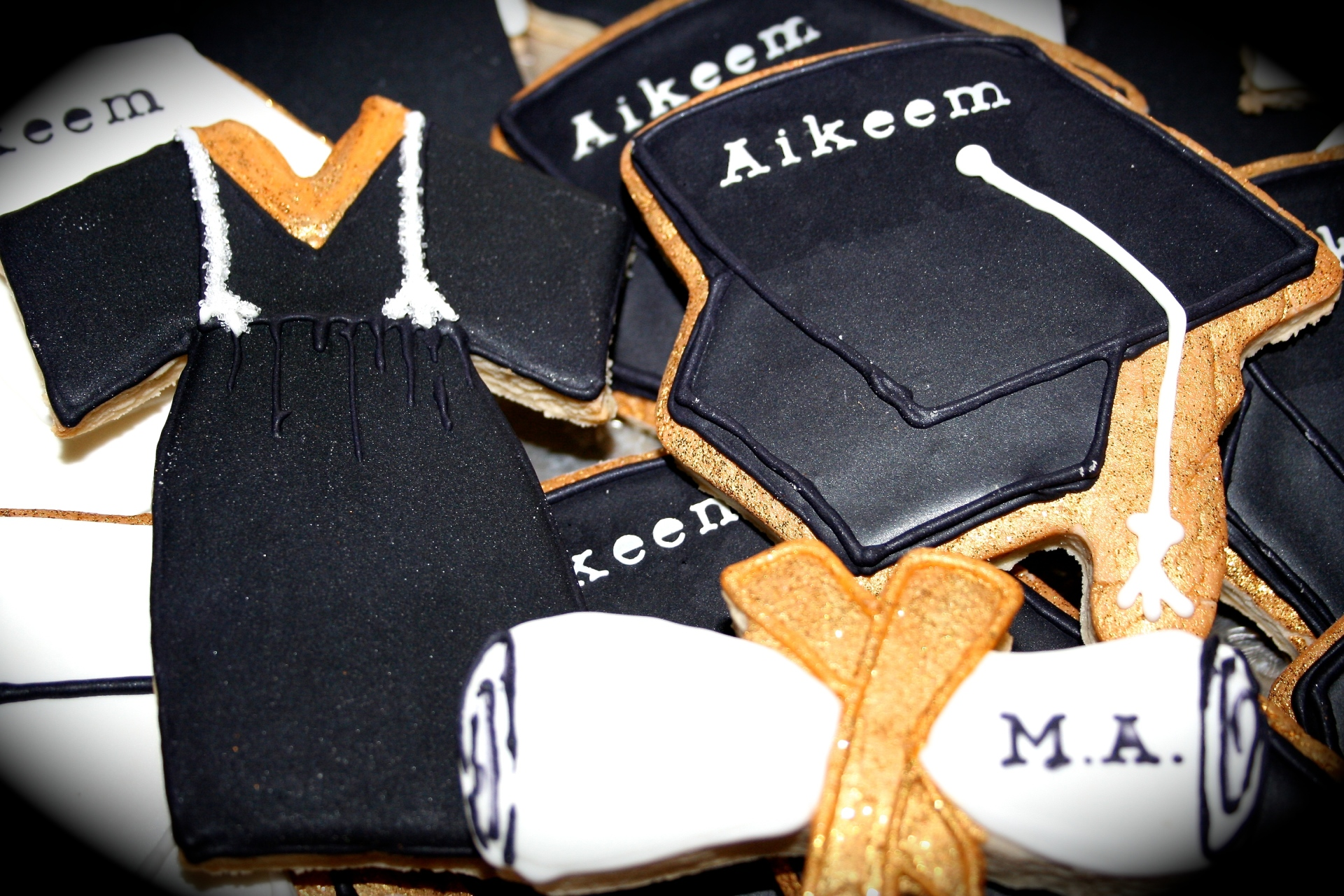 Graduation Custom Cookie Set