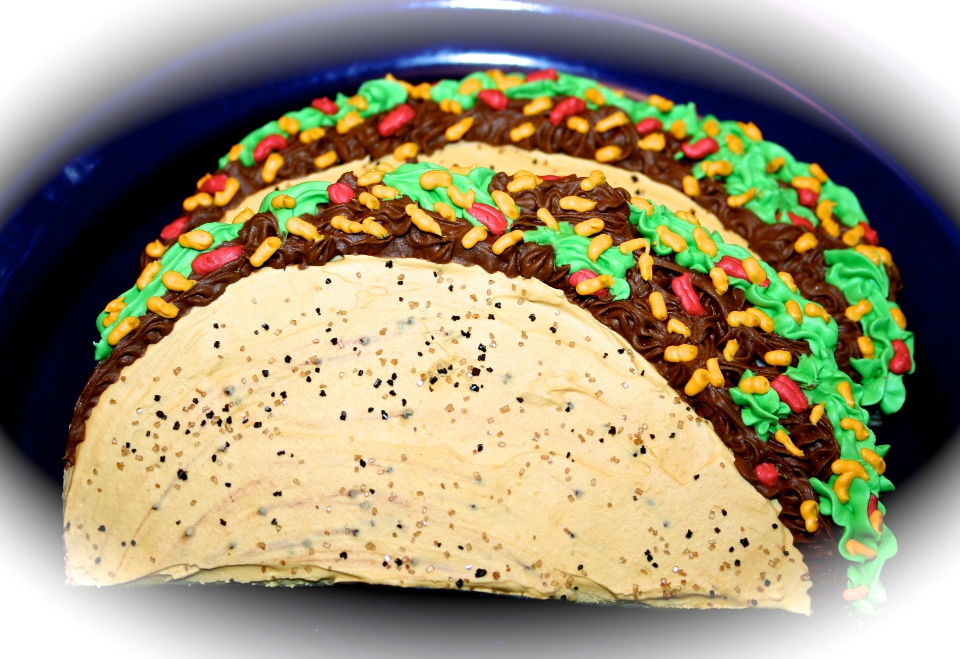 Tacos Sugar Cookies